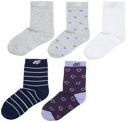 Носки для девочек 4F (5 шт.)