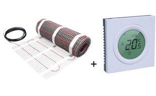 Сетка напольного отопления  Danfoss ECmat™ 150T + термостат Danfoss ECtemp™