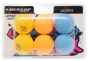Tennisepallid Dunlop Nitro Glow, 6 tk.