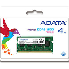 A-Data 4GB 1600MHz DDR3 SODIMM CL11 AD3S1600W4G11-R