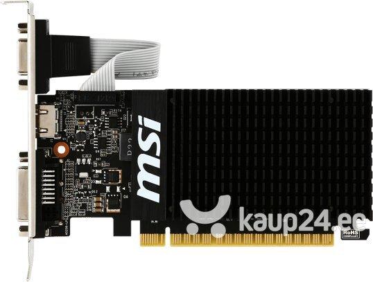 MSI GeForce GT710 1GB DDR3 PCIE GT 710 1GD3H LP цена