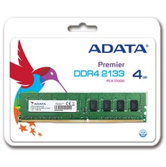 A-Data Premier 4GB 2133MHz DDR4 CL15 AD4U2133W4G15-R
