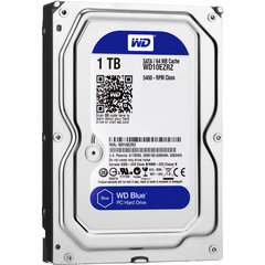 Western Digital Blue HDD 1TB 5400RPM SATA3 64MB WD10EZRZ