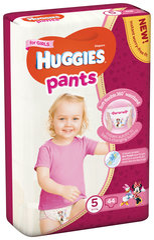Mähkmed HUGGIES Pants Girls suurus 5, 44tk hind ja info | Mähkmed HUGGIES Pants Girls suurus 5, 44tk | kaup24.ee
