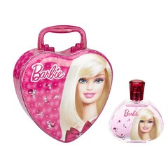 Komplekt Barbie: EDT tüdrukutele 100 ml + metallkarp