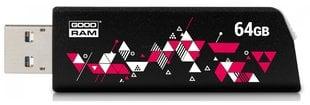 Mälupulk Goodram UCL3 64GB 3.0, Must hind ja info | Mälupulgad | kaup24.ee