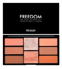 Põsepuna palett Freedom Pro Blush Peach And Baked 15 g
