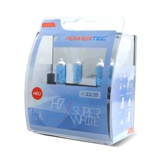 Pirnid M-Tech Powertec SuperWhite H7 12V, 2 tk