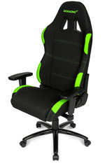 Arvutitool AKRACING Gaming Chair, must/roheline