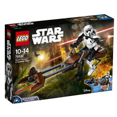 75532 LEGO® STAR WARS Scout Trooper & SPEEDer Bike
