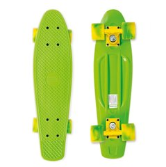 Rula Pennyboard Street Surfing Beach Board, California Dream Green