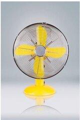 Metallist ventilaator Volteno, kollane