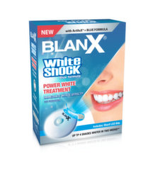 Hambapasta Blanx White Shock Treatment 50 ml + LED