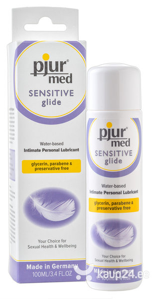 Lubrikant Pjur Sensitive Glide, 100 ml