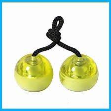 Pallid valgusega Fidget Roll Balls, kollane