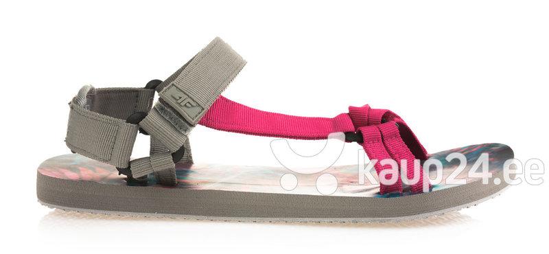 Naiste sandaalid 4F SAD001, hall