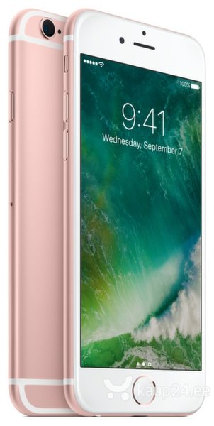 Apple iPhone 6s 128GB, Roosa
