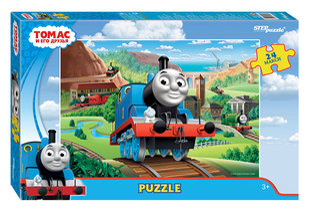 Pusle Step Puzzle maxi Thomas ja sõbrad 24 hind ja info | Pusled | kaup24.ee