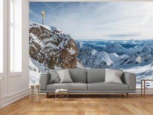 Fototapeet Zugspitze, Alpid
