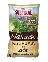 Turba substraat maitsetaimedele SUBSTRAL, 5L