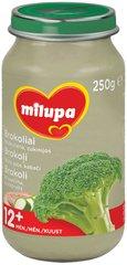 Brokolipüree kalkuniliha ja suvikõrvitsaga Milupa 12+ kuud, 250 g