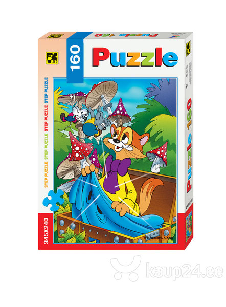 Pusle Step Puzzle 160, Kass Leopold