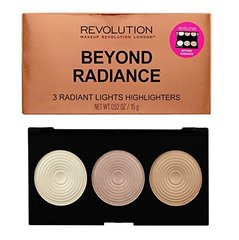 Valgustpeegeldavate puudrite palett Makeup Revolution London Beyond Radiance 15 g