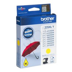 Brother LC225XLY, Yellow High yield Ink Cartridge 1200 pages hind ja info | Laserprinteri toonerid | kaup24.ee