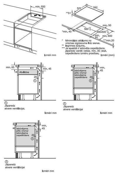 Integreeritav pliidiplaat BOSCH PIE 651 FC 1 E soodsam