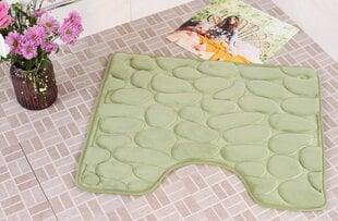 "Vannitoavaip Memory foam ""Benedomo"" Green, 50x60 cm"