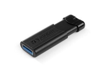 Verbatim - PinStripe USB 3.0 Drive 64GB Black hind ja info | Mälupulgad | kaup24.ee