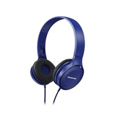 Panasonic headphones RP-HF100E-A, blue