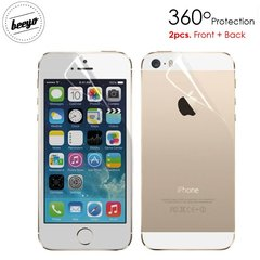 Beeyo Full Body Screen protector sobib iPhone 5/5s läikiv, esine+tagus
