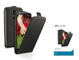 LG G2 cover FLAP ESSEN by Cellular black