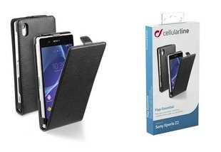Sony Xperia Z2 cover FLAP ESSEN by Cellular black