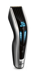 PHILIPS HC9450/15 Hair Clipper, Titanium blades, 400 length settings, 120mins cordless use, Auto Turbo function