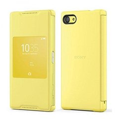 SONY STYLE COVER WINDOW SCR44 Z5 COMPACT YELLOW
