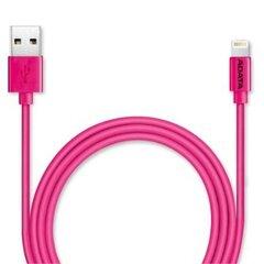 Sinchronizavimo ir įlaadija kaabel ADATA, sobib iPhone, iPad, iPod, 1 m, roosa