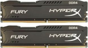 Kingston Fury Black 8 Kit (4GBx2) GB, DDR4, 288-pin DIMM, 2666 MHz, Memory voltage 1.2 V