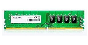 A-Data 4 GB, DDR4, 288-pin DIMM, 2400 MHz, Memory voltage 1.2 V
