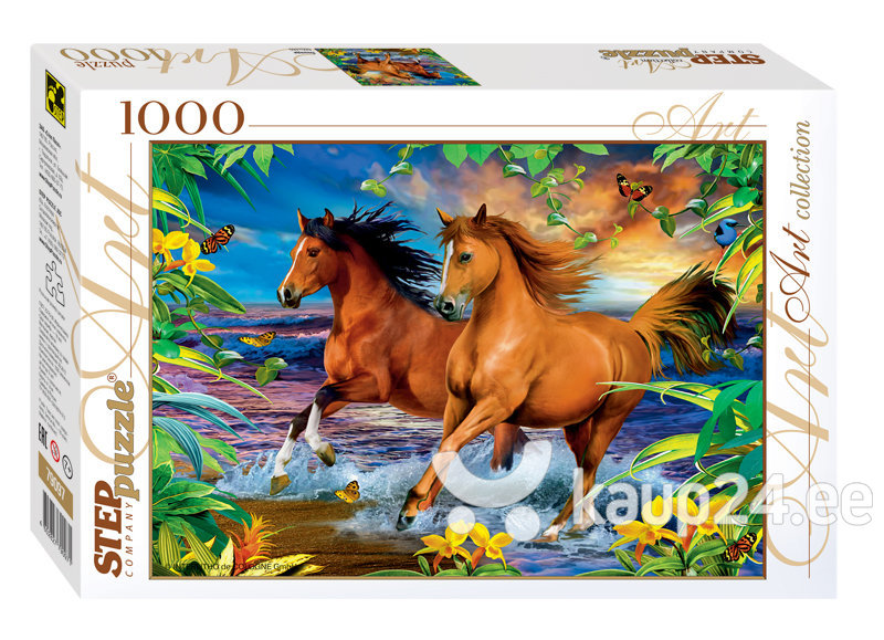 Pusle Step Puzzle 1000 Hobused
