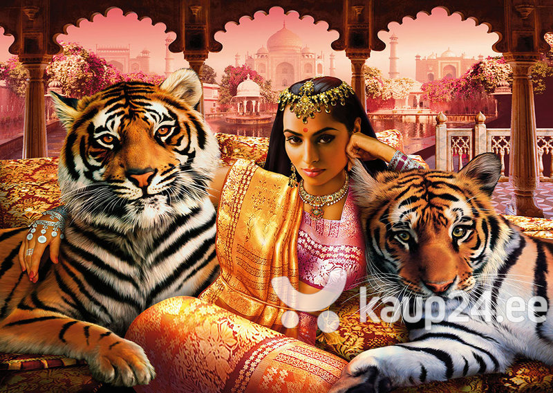 Pusle Step Puzzle 1000 India printsess hind