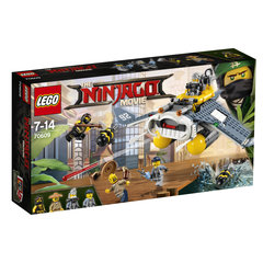 70609 LEGO® NINJAGO MOVIE Raikujuline pommitaja