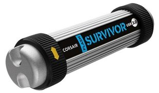 Mälupulk Corsair USB Flash Survivor 128GB USB 3.0, shock/waterproof hind ja info | Mälupulk Corsair USB Flash Survivor 128GB USB 3.0, shock/waterproof | kaup24.ee