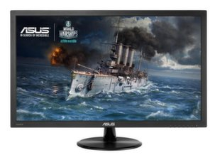 "ASUS VP278H 27"" TN FHD Wide LED Non-glare / 0.311mm/ 1920x1080/ 100M:1/ 1ms (Gray to Gray)/ H=170 V=160/ 300cdqm/ 2x2W stereo Speakers RMS / HDMIx2/ D-Sub / Black"