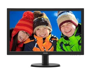 Monitor Philips - 23.6'' 243V5LHSB5 LED DVI HDMI