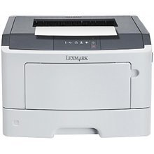 Lexmark MS317dn Laser Printer/ 1200 x 1200 dpi/ 33 ppm/ 800 MHz/ 128 MB/ 850-Sheet Input/ Integrated Duplex/ Ethernet 10/100/ USB 2.0