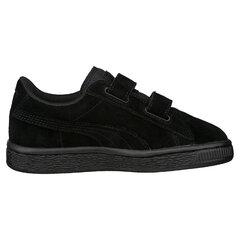 Puma спортивная обувь Suede 2 straps PS, Puma Black-Puma Silver