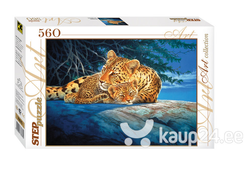 Pusle Step Puzzle 560 Leopardid