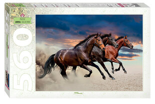 Pusle Step Puzzle 560 Hobused hind ja info | Pusle Step Puzzle 560 Hobused | kaup24.ee